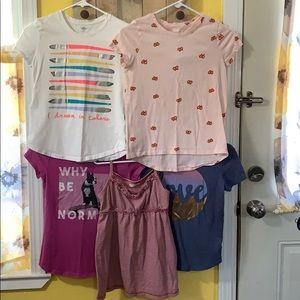 Old Navy Girls Shirt Bundle